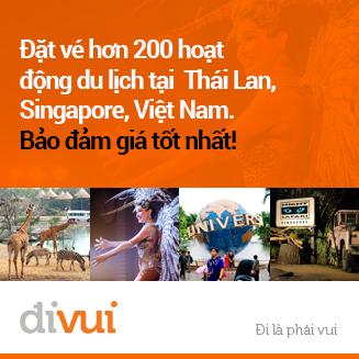 Đặt Vé, Tour & các hoạt động vui chơi  hấp dẫn nhất tại Đông Nam Á!