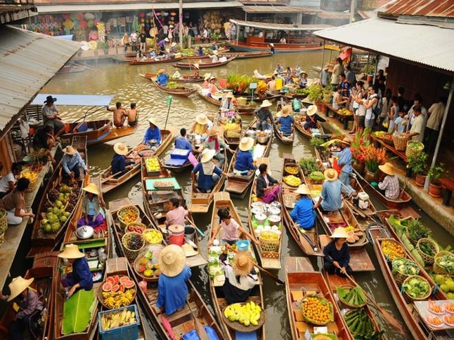 cho-noi-damnoen-saduak-ratchaburi-thai-lan