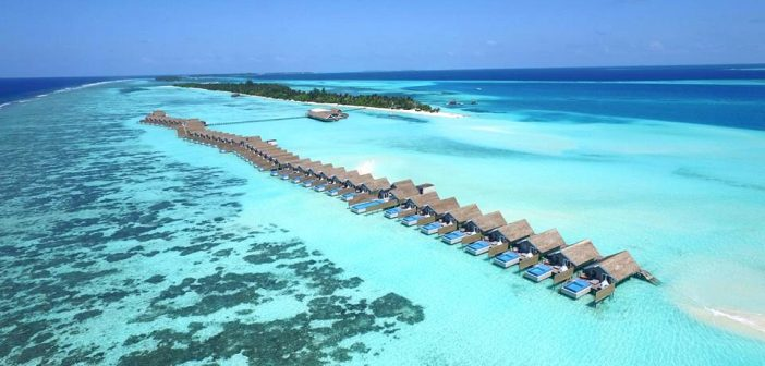 LUX South Ari Atoll – Resort có nhiều bể bơi nhất Maldives